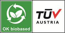 logo ok biobased tuv austria
