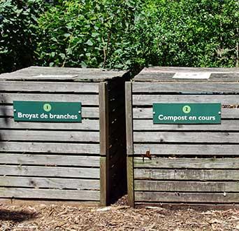 composteur collectif sacs biodégradables et compostables végéos